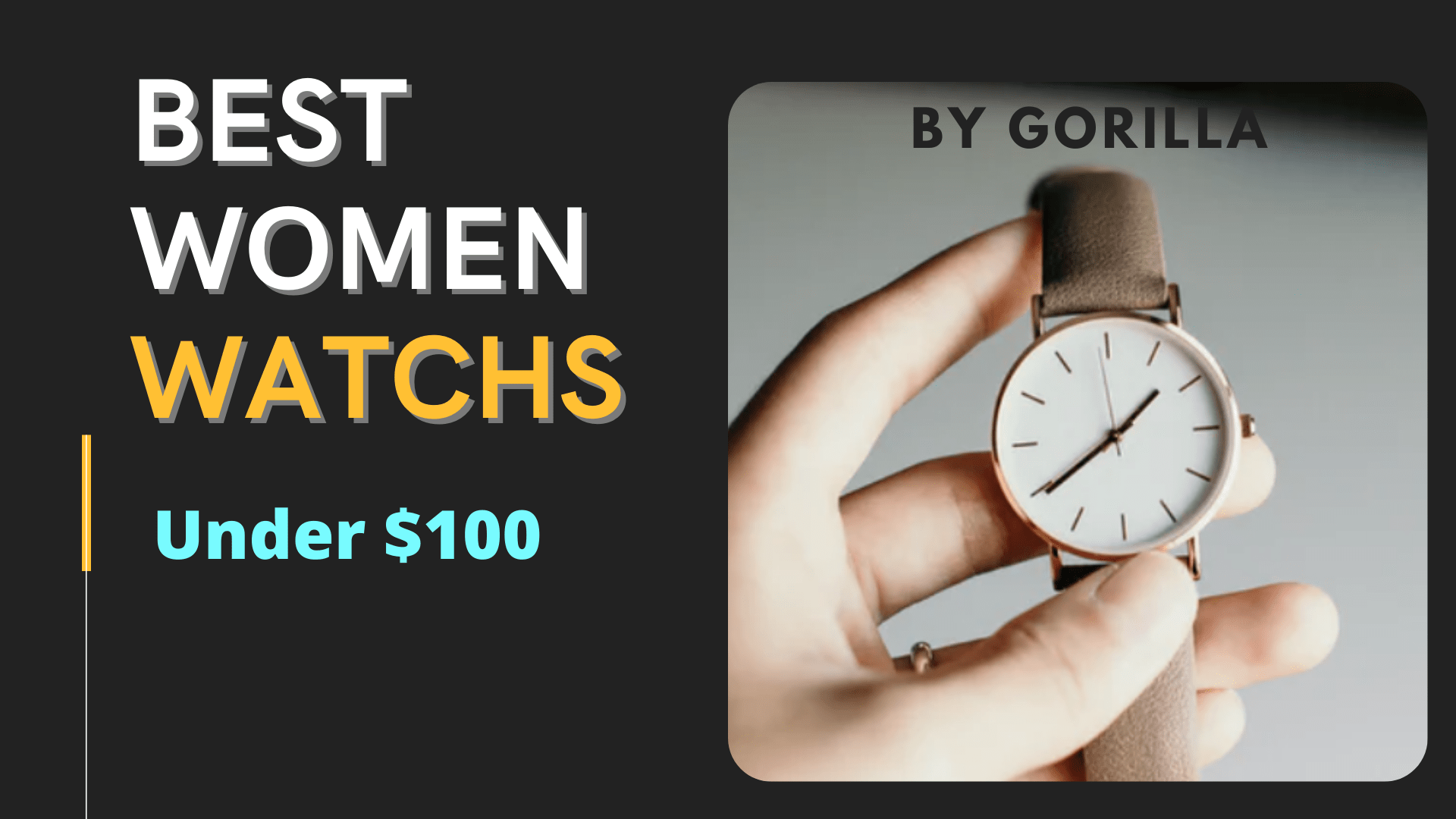 best women watch under 100