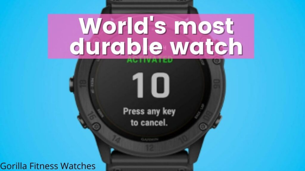 most durable watch