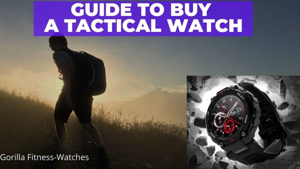 guide to buy tactical smartwatch