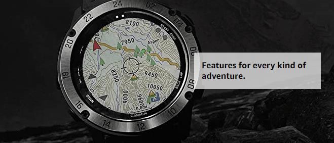 navigation in garmin tactix