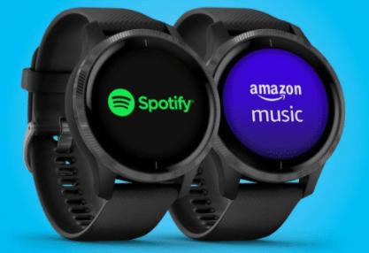 garmin smartwatch with music