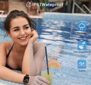 canmixs smartwatch water resistance