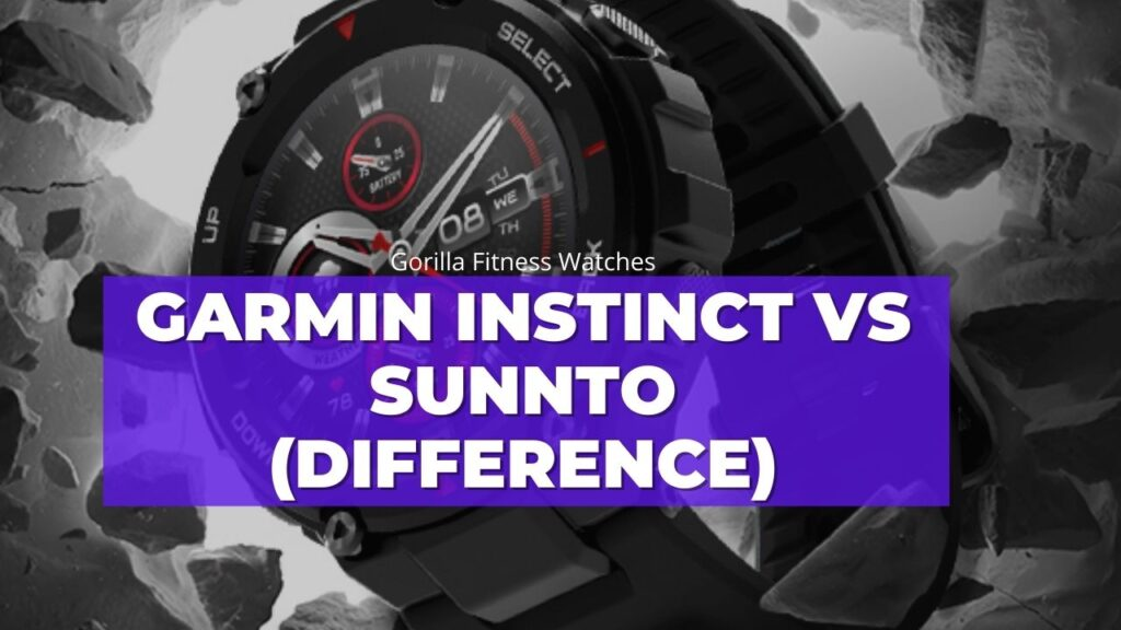 what is difference between instinct and suunto
