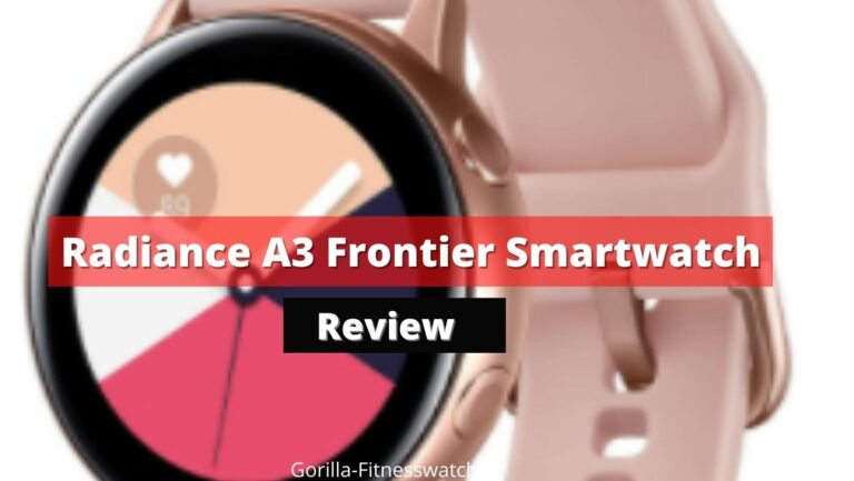Radiance A3 Frontier Smartwatch