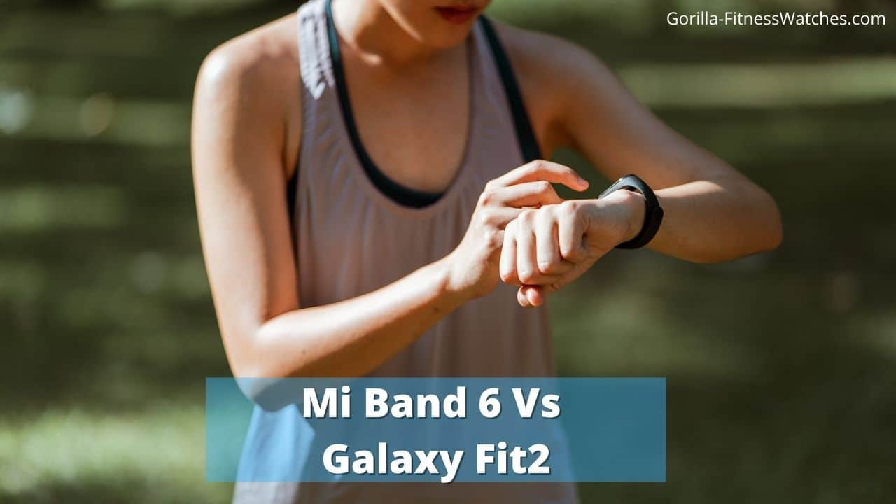 fit2 vs mi band 6