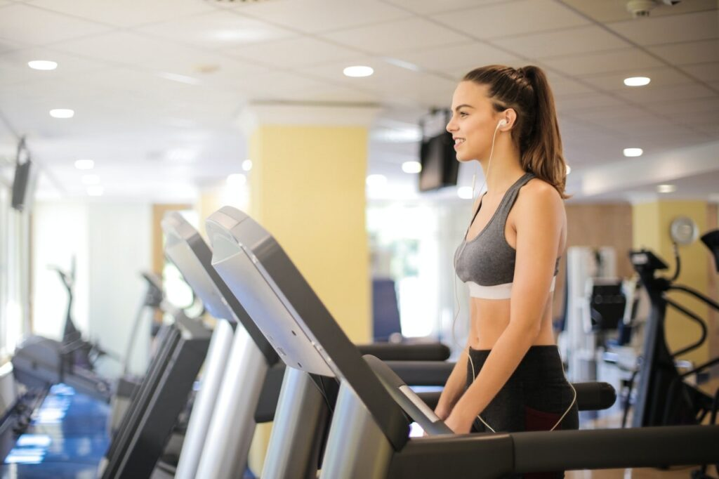 how fitbit measures treadmill