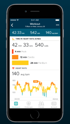 set goals on fitbit charge 4