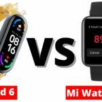 Xiaomi Mi Band 6 Vs Mi Watch Lite: Which One Is Best?