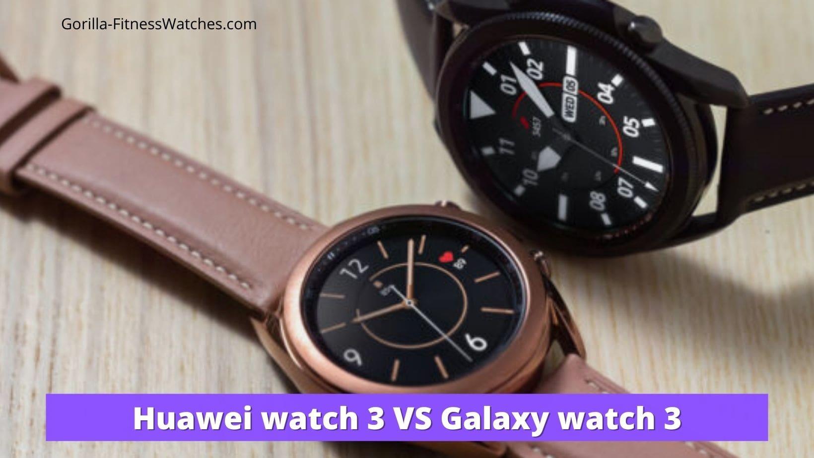 galaxy watch vs huawei watch