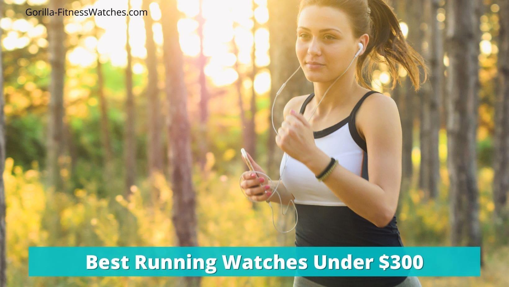best running watches under $300