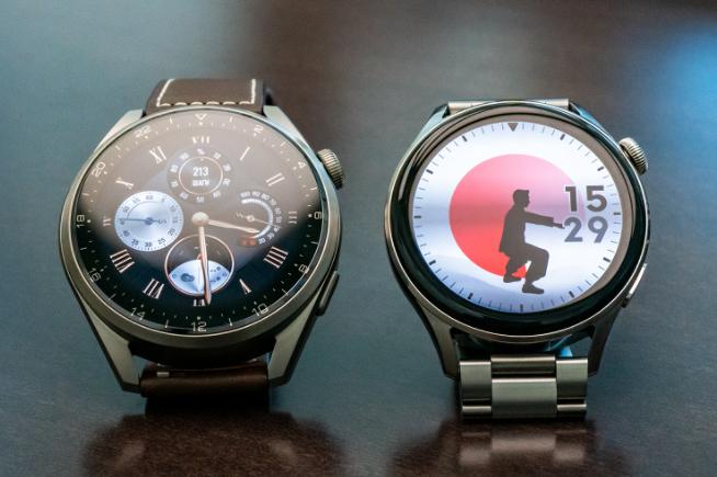 galaxy watch 3 v huawei watch
