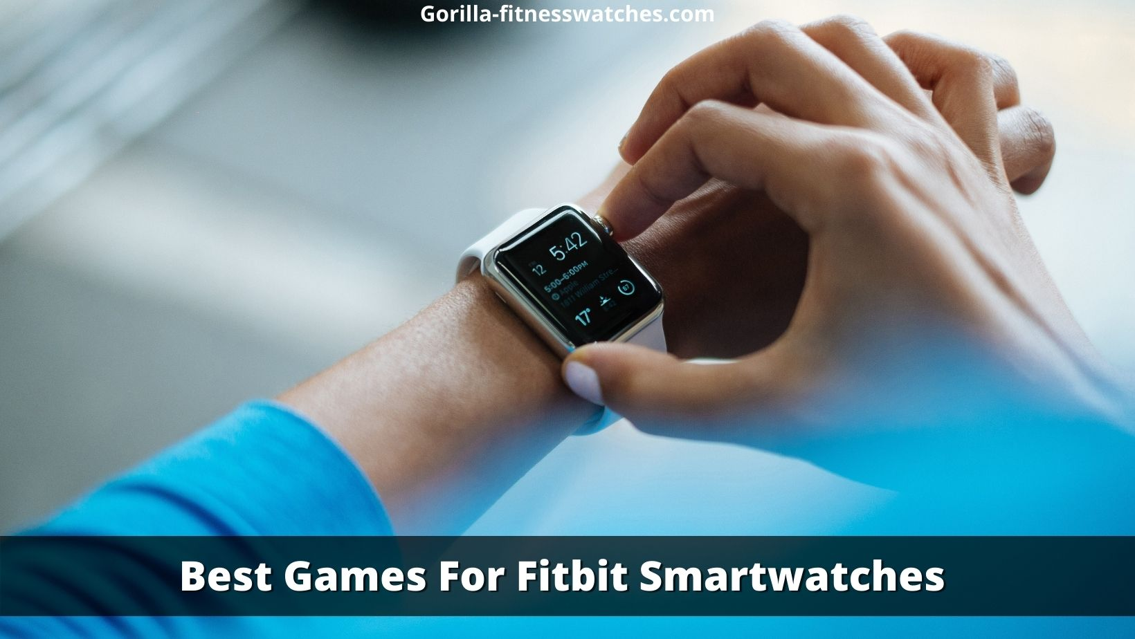 best games for fitbit smartwatch