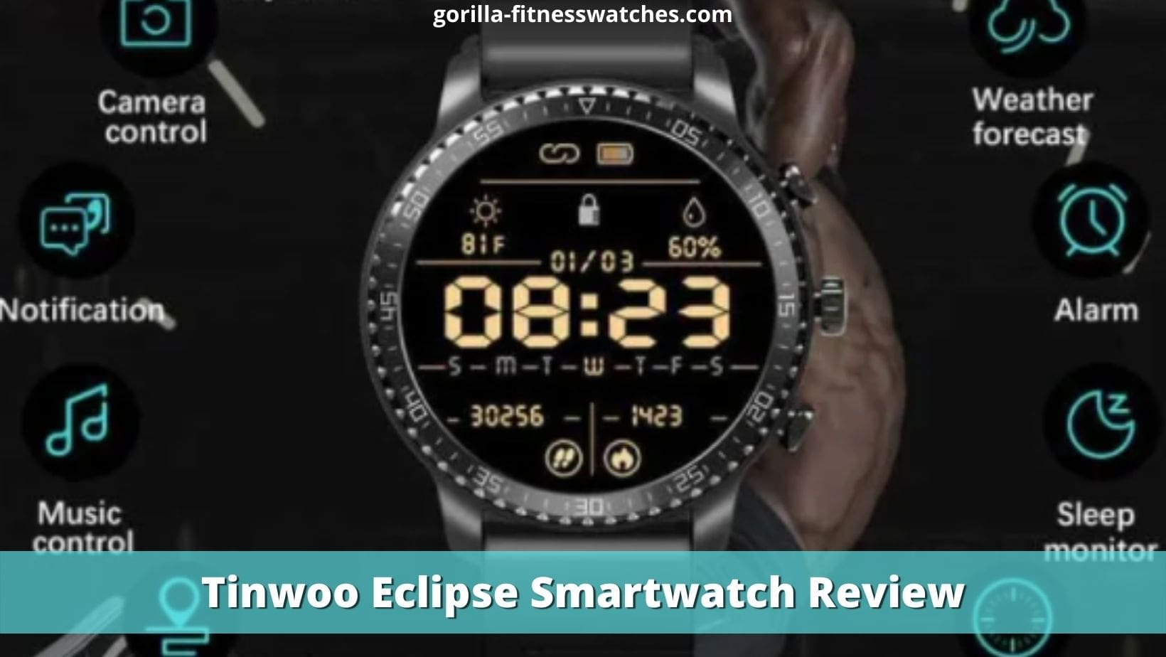 Tinwoo Eclipse Smartwatch Review