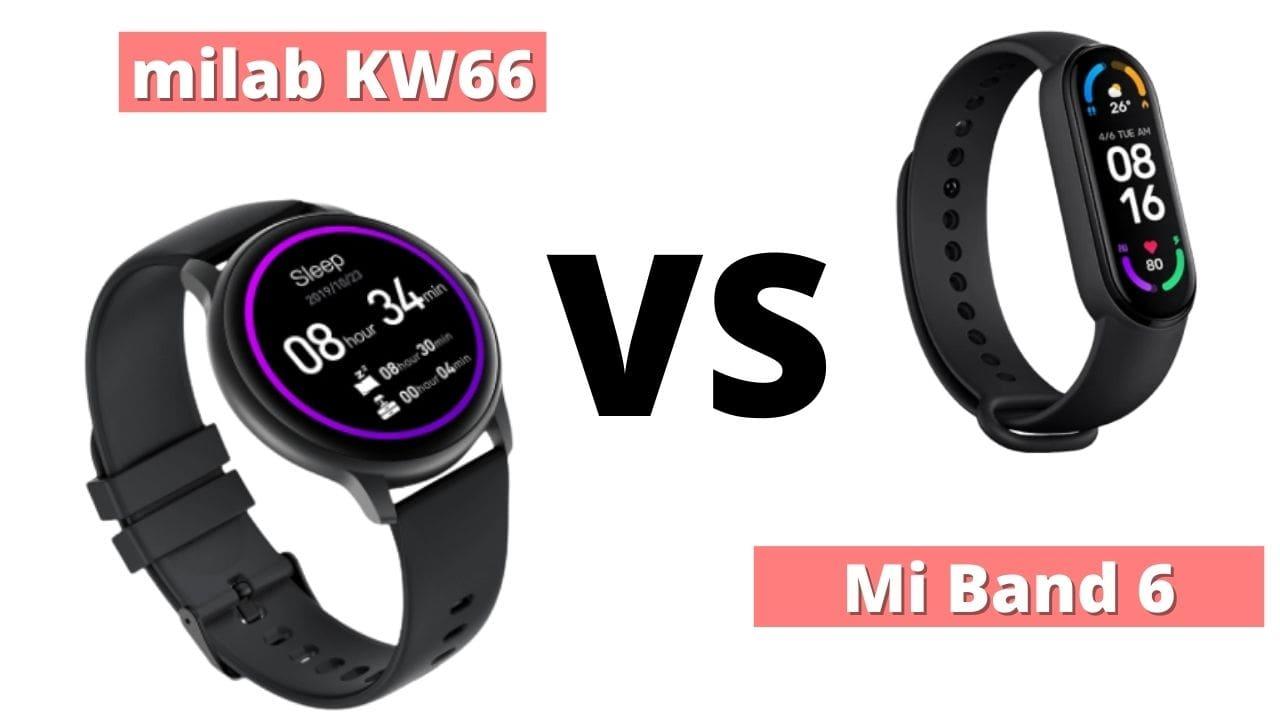 mi band 6 vs imilab kw66