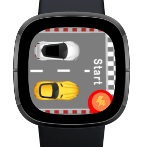 racing games for fitbit