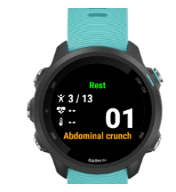 workout app for garmin watches