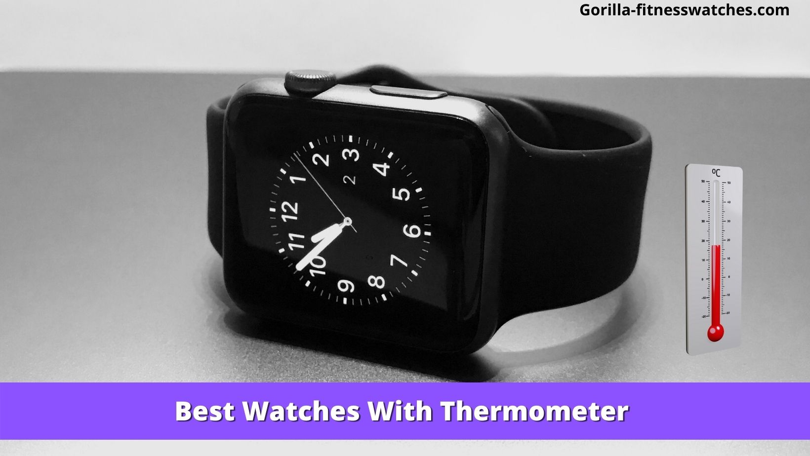 Best Watches With Thermometer