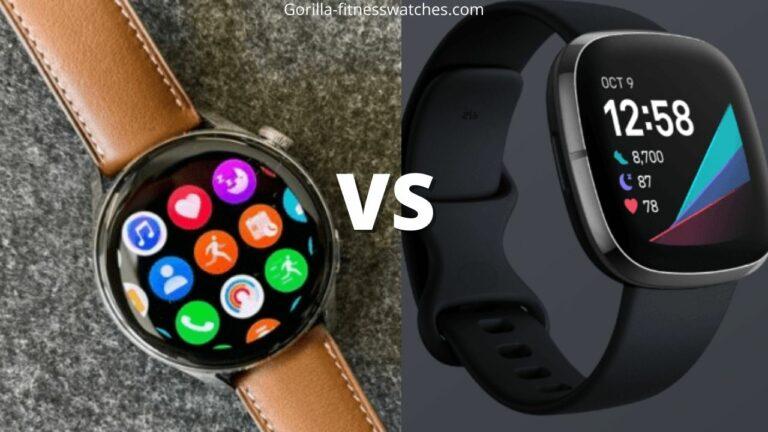 Huawei watch 3 vs Fitbit Sense