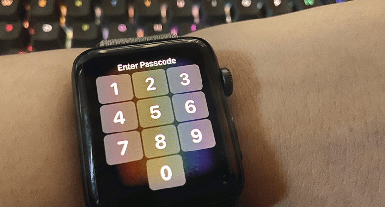 how to rest the password of smartwatch