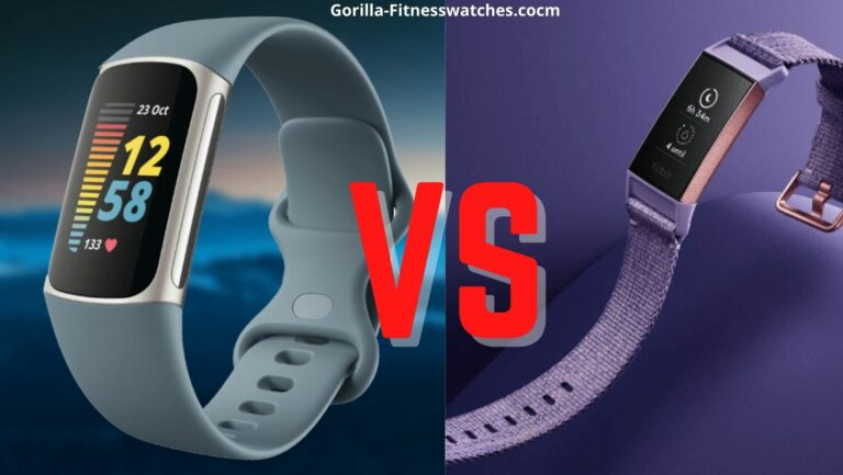 Fitbit Charge 5 VS Fitbit Charge 3