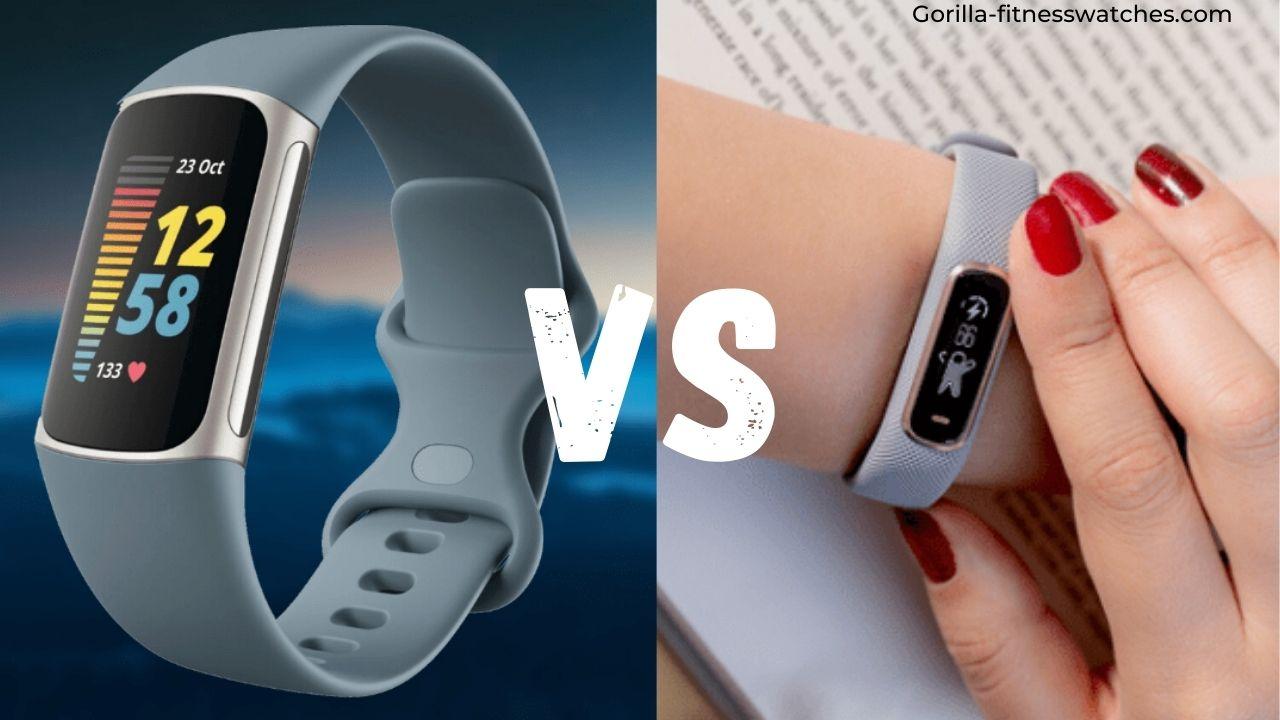 Fitbit Charge 5 vs Garmin Vivosmart 4