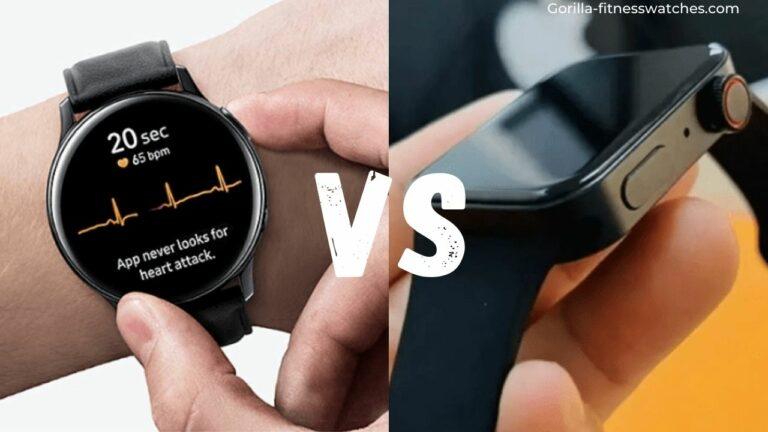 Apple Watch 7 VS Galaxy Watch Active 2