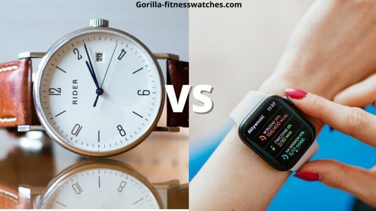 Smartwatch vs Regular watch