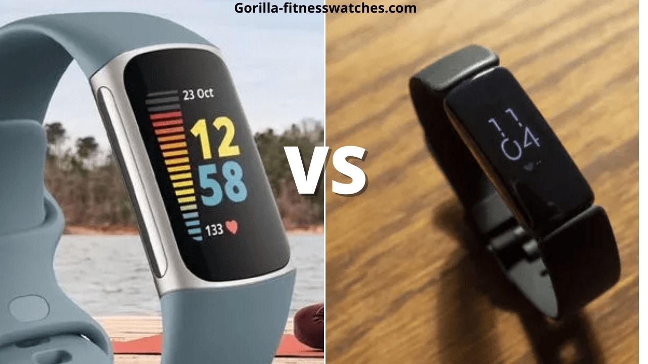 Fitbit Charge 5 VS Inspire 2: