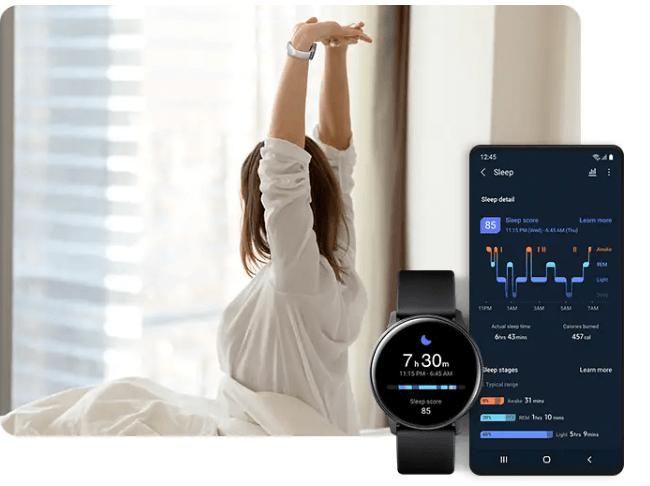 Samsung Galaxy Watch Measure Stress