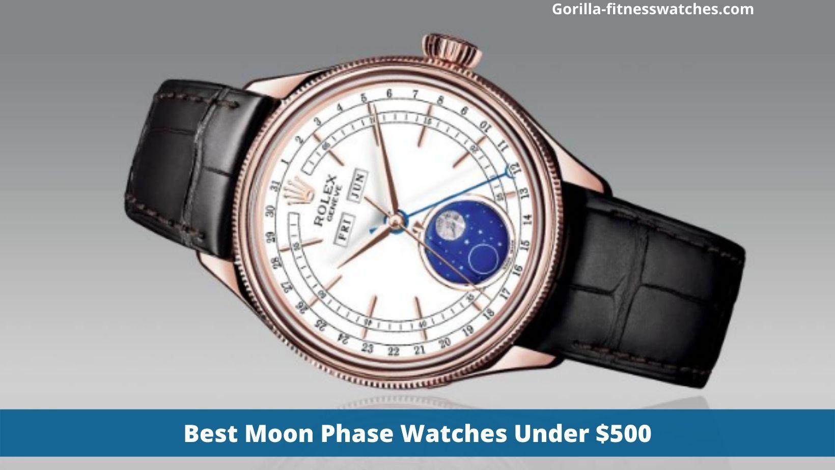 Best Moon Phase Watches Under $500