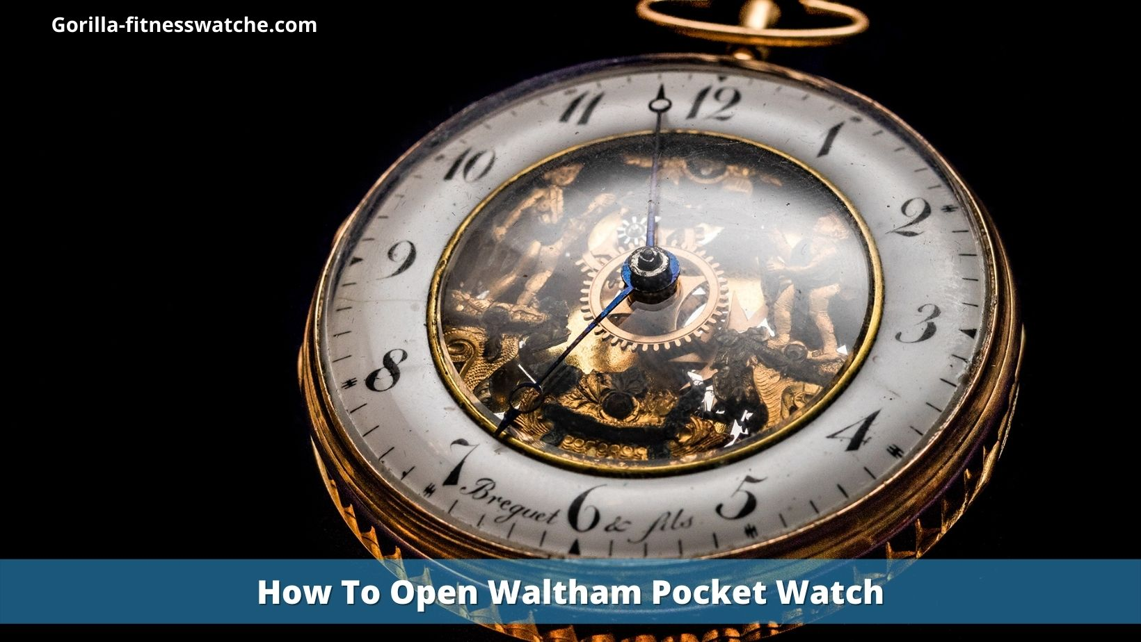 How To Open Waltham Pocket Watch: