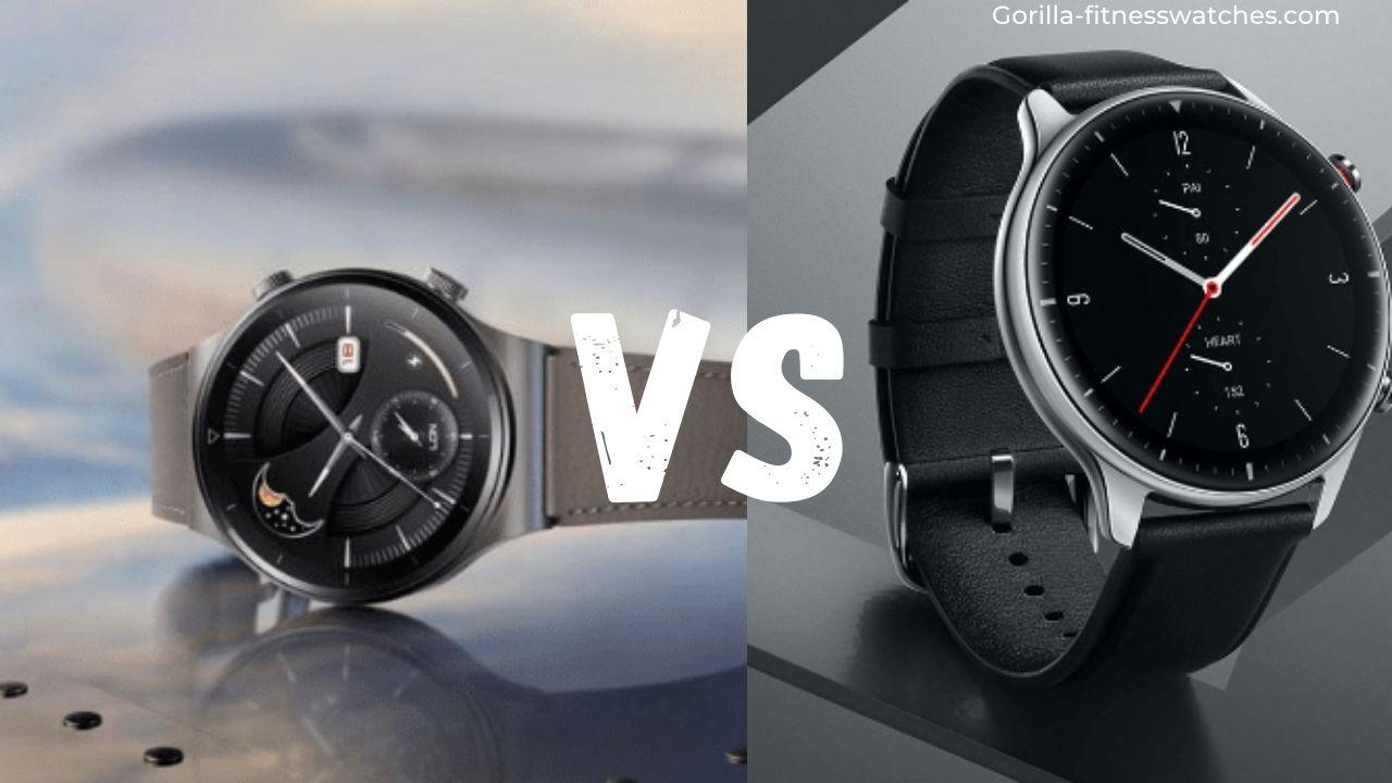 Huawei Watch GT 2 Pro VS Amazfit GTR 2:
