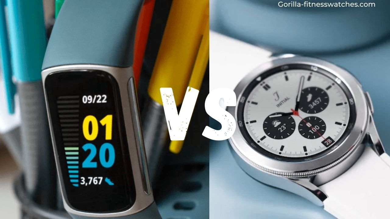 Galaxy Watch 4 VS Fitbit Charge 5