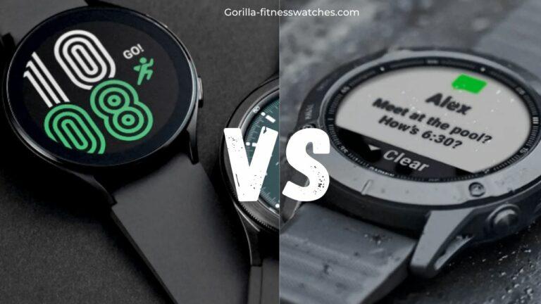 Galaxy Watch 4 VS Garmin Fenix 6