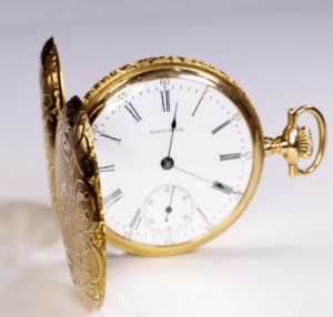 How To open a Waltham Open Face Pocket Watch?