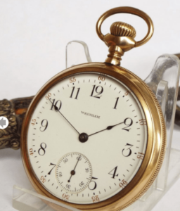 How To Open A Waltham Hunting Pocket Watch